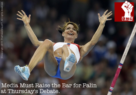 Media Must Raise the Bar for Palin at Thursday's Debate