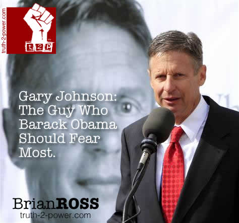 Gary Johnson: The Guy That Barack Obama Should Fear Most