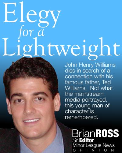 Elegy for a Lightweight - John Henry Williams