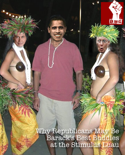 The Stimulus Luau