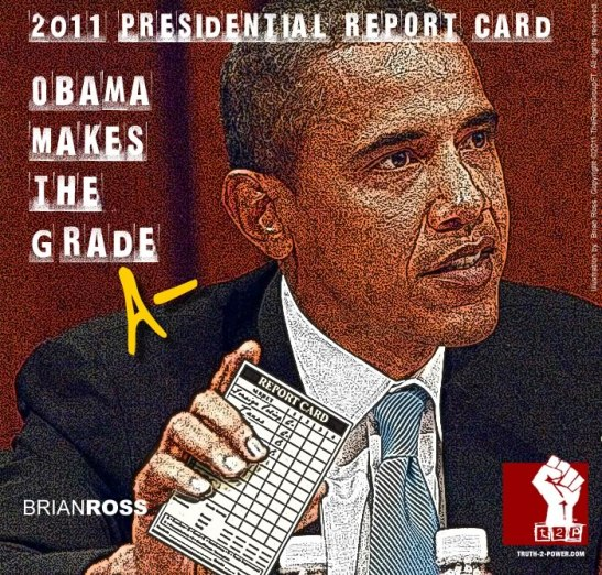 2011 Presidential Report Card: Obama Makes the Grade