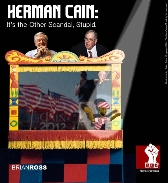 Herman Cain: It's the Other Scandal, Stupid