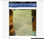 Racist Receipt